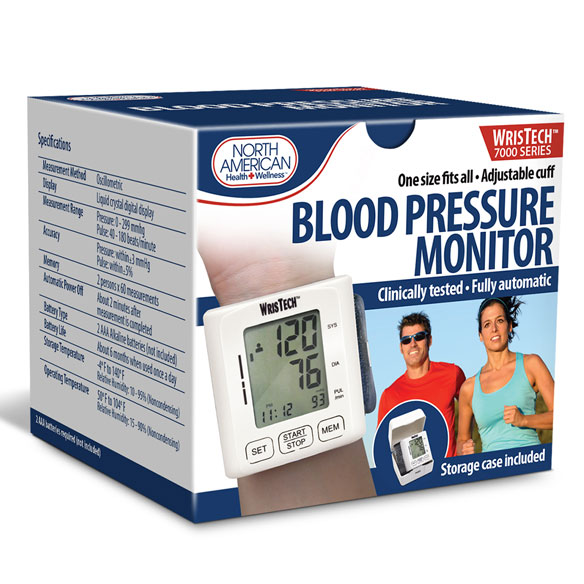 Wrist Blood Pressure Monitor - View 3