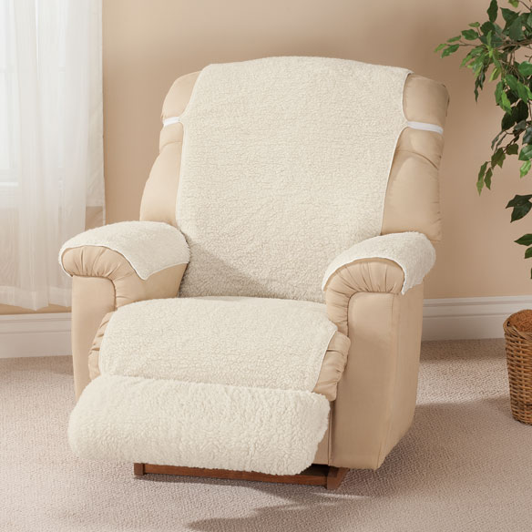 Sherpa Recliner Cover by OakRidge Comforts™ - View 4