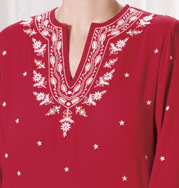 Embroidered Tunic - View 2