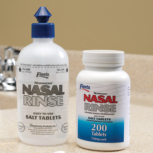 Nasal Cleansing System and Refill Tablets