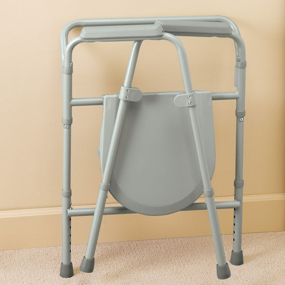 Bariatric Folding Commode - View 2
