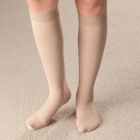 Knee High Support Stockings - View 2