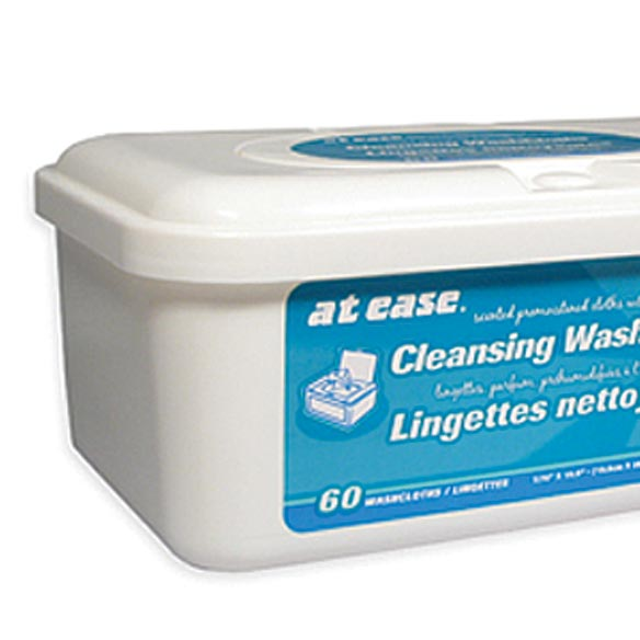 Adult Cleansing Wipes - Pack of 60 - View 2