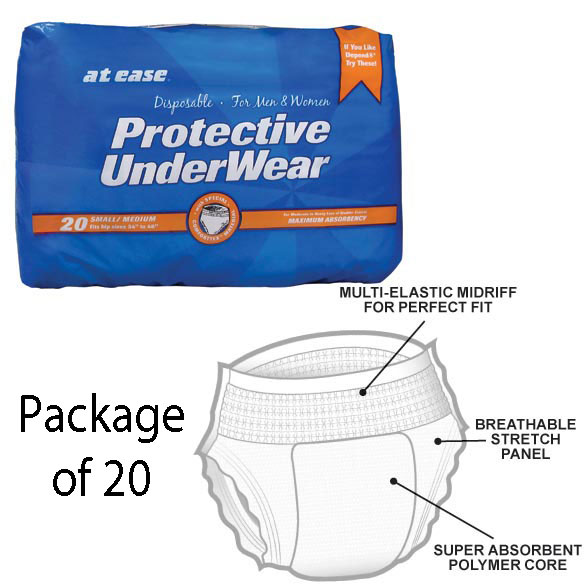 Protective Disposable Underwear, Package - View 2