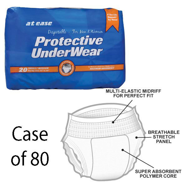 Disposable Protective Underwear - Case - View 1