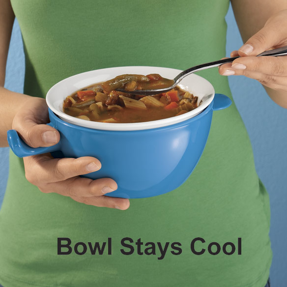 Cool Touch Microwave Bowl - View 2
