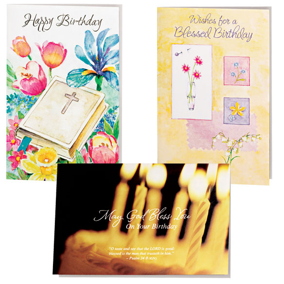 Assorted Birthday Cards - 24 Pack - View 2