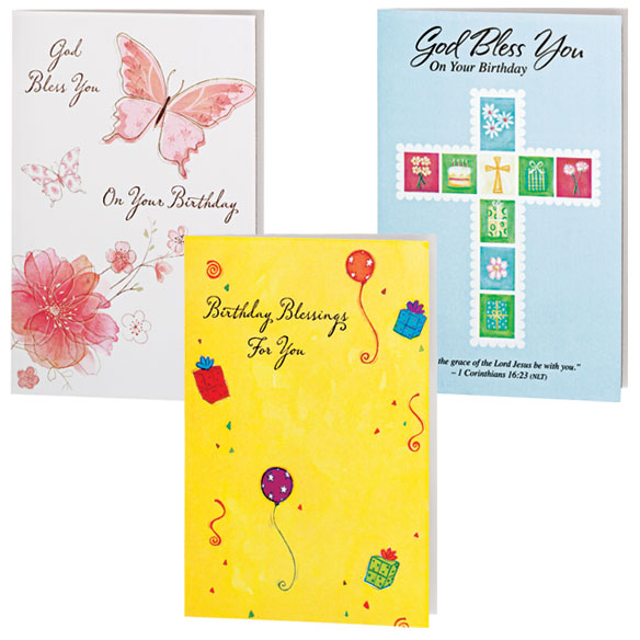 Assorted Birthday Cards - 24 Pack - View 3
