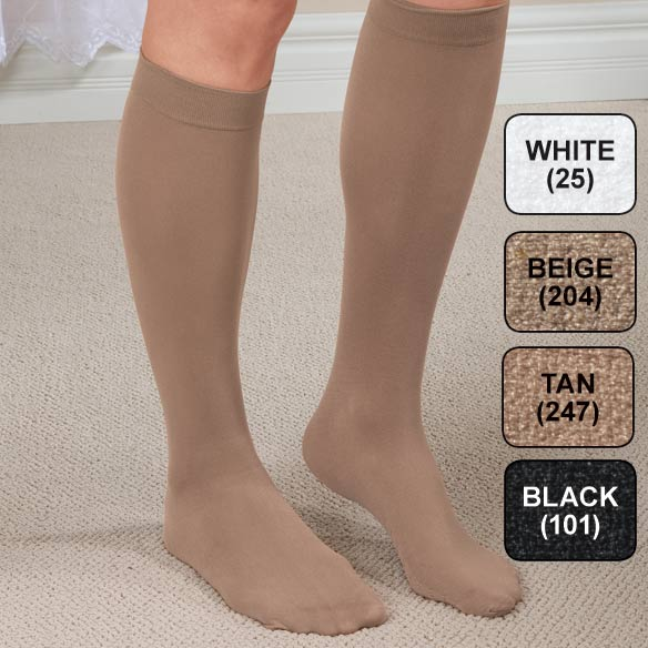 Women's Massaging Compression Trouser Socks - View 2