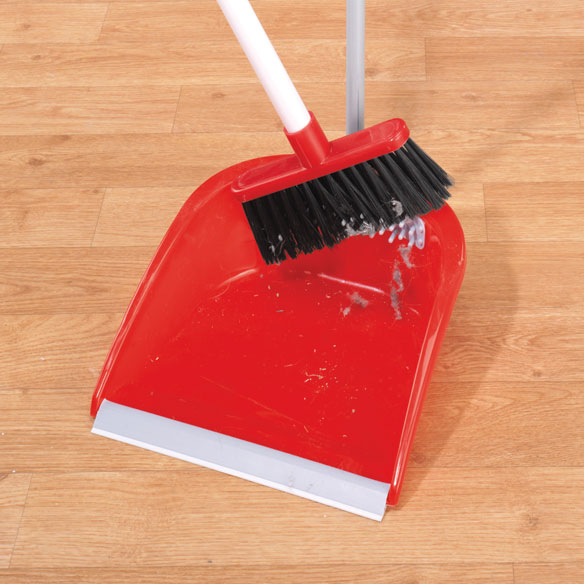 Long Handled Broom Cleaning Dust Pan - View 1