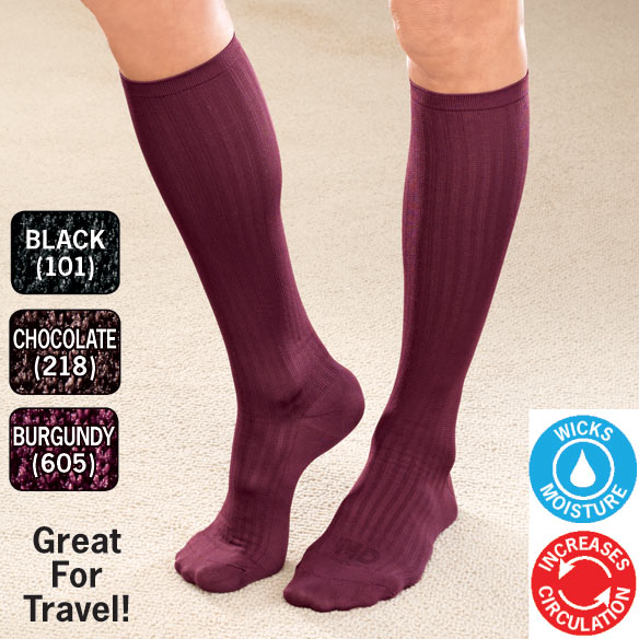 Graduated Compression Socks For Women - View 1