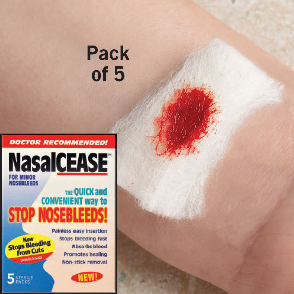 NasalCease® First Aid To Stop Bleeding - View 2