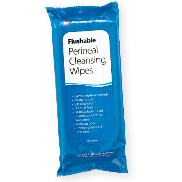 Flushable Personal Cleansing Wipes - View 1