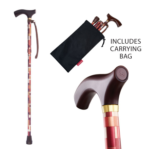 Switch Sticks® Folding Walking Stick - View 1