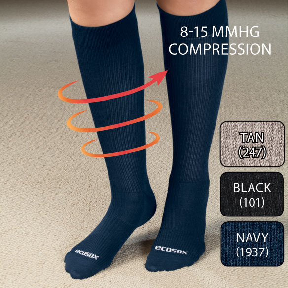 ECOSOX® Bamboo Compression Socks - View 2
