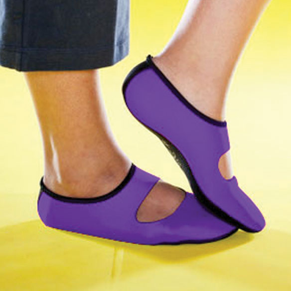 NuFoot Neoprene Mary Jane Shoes - View 3