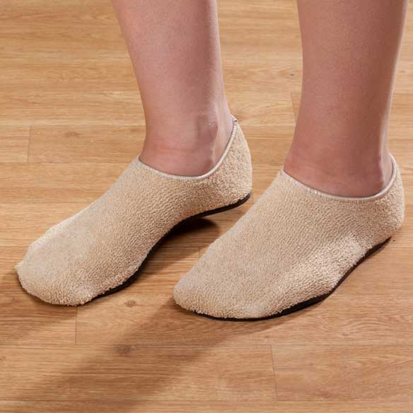 Terry Cloth Slippers - View 1