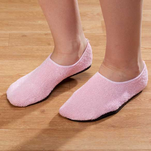 Terry Cloth Slippers - View 2