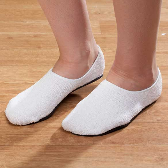 Terry Cloth Slippers - View 3