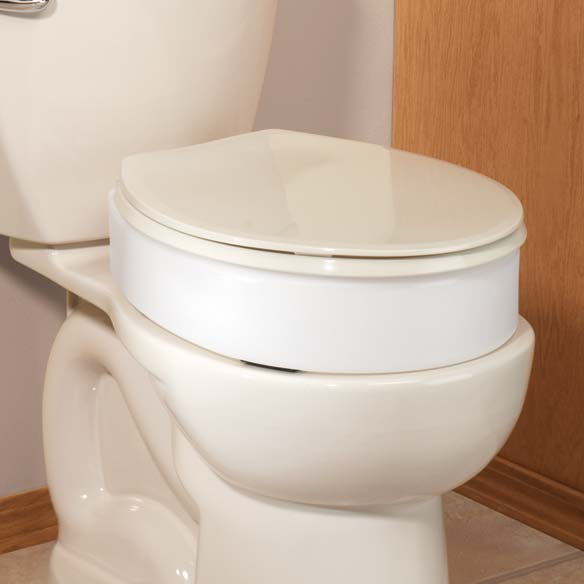 Discreet Toilet Seat Riser - View 2