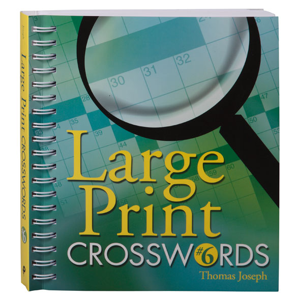 Large Print Crossword Puzzle Book - View 1
