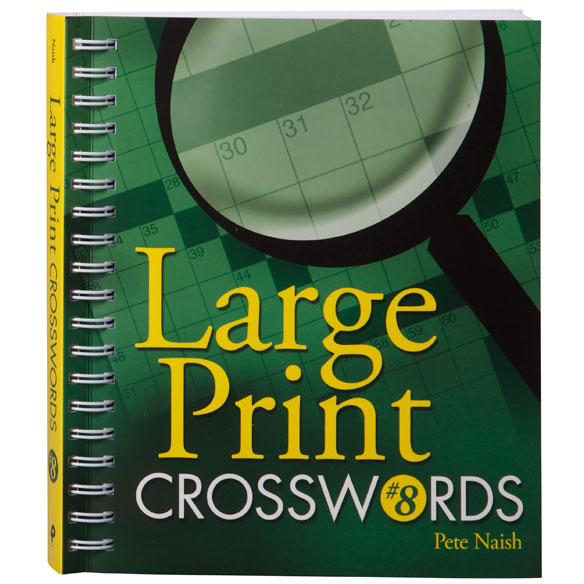 Large Print Crossword Puzzle Book - View 2