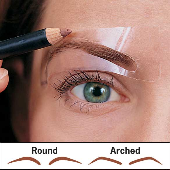 Brow Shaping Stencils - 6 Pairs - View 1