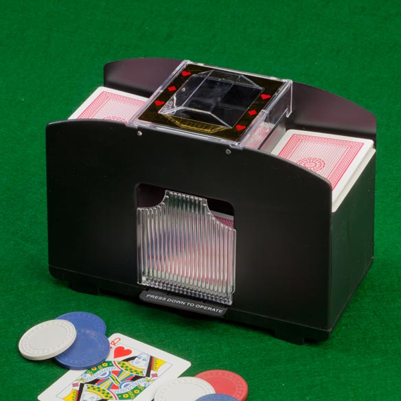 Automatic Card Shuffler - View 1