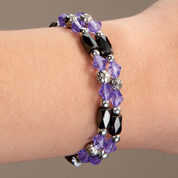 Rose Hematite Bracelets - Set Of 2 - View 2