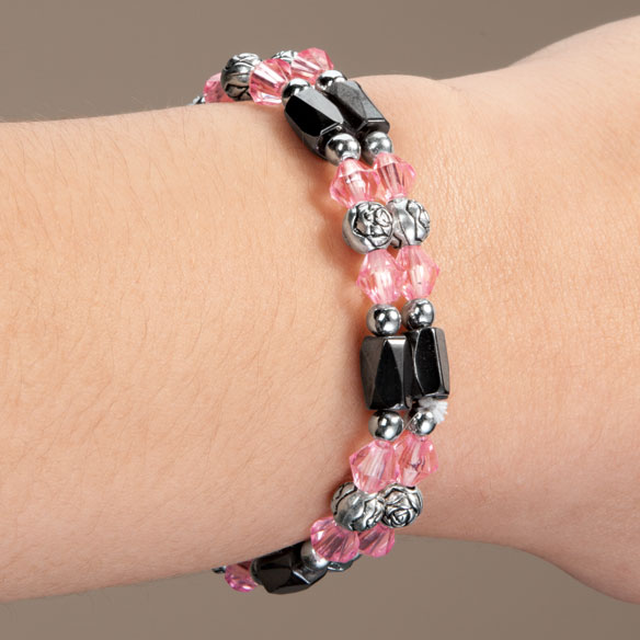 Rose Hematite Bracelets - Set Of 2 - View 3