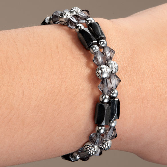 Rose Hematite Bracelets - Set Of 2 - View 5