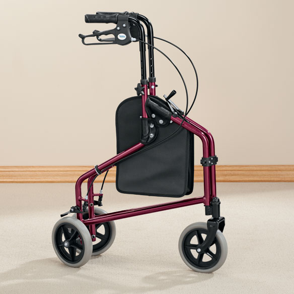 Easy Folding 3 Wheel Rollator       XL - View 1