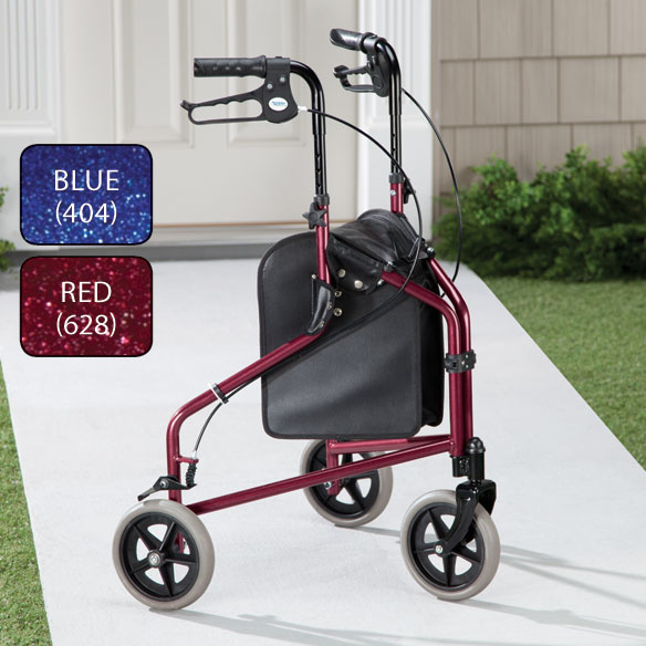 Easy Folding 3 Wheel Rollator       XL - View 2