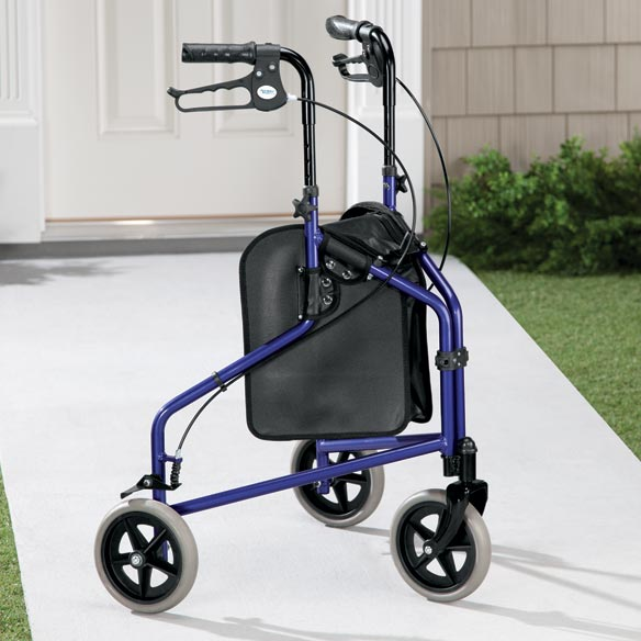 Easy Folding 3 Wheel Rollator       XL - View 3