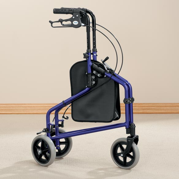 Easy Folding 3 Wheel Rollator       XL - View 4