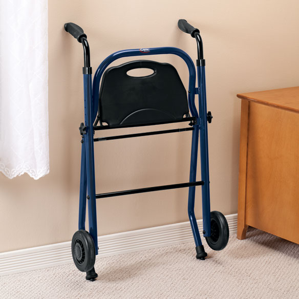 2 Wheel Walker With Seat - View 2