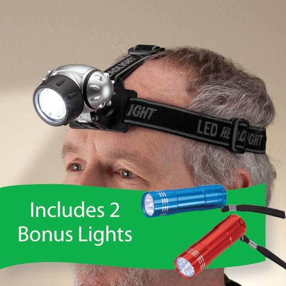 LED Headlamp - View 1