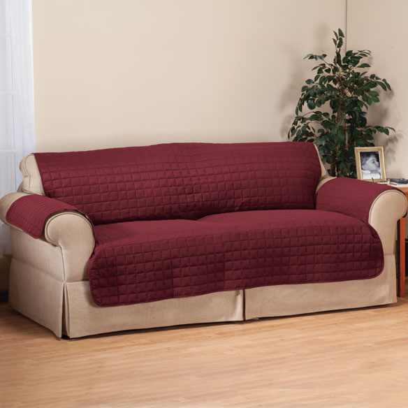 Microfiber Sofa Protector by OakRidge Comforts™ - View 5