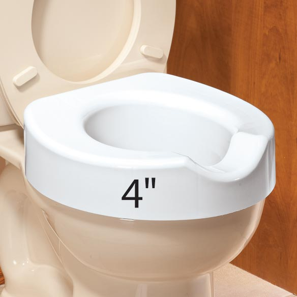 Quick Lock Raised Toilet Seat - View 2