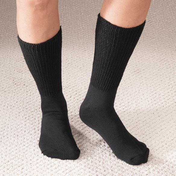 Extra Wide Medi Socks - 2 Pair - View 1