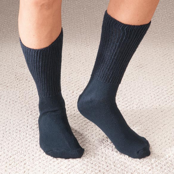 Extra Wide Medi Socks - 2 Pair - View 2