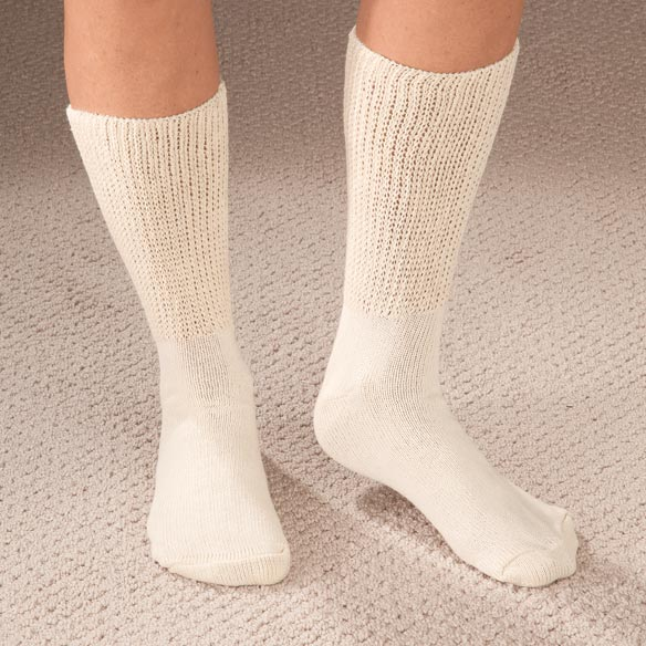 Extra Wide Medi Socks - 2 Pair - View 3