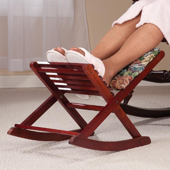Foldable Rocking Footrest Folding Foot Rest Easy forts