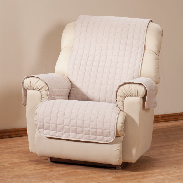 Microfiber Recliner Protector by OakRidge Comforts™ - View 4