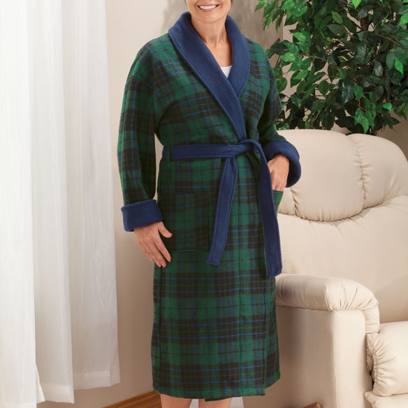 Polar Fleece Robe - View 1