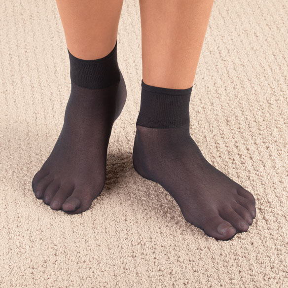 Diabetic Nylon Ankle Hose - View 2