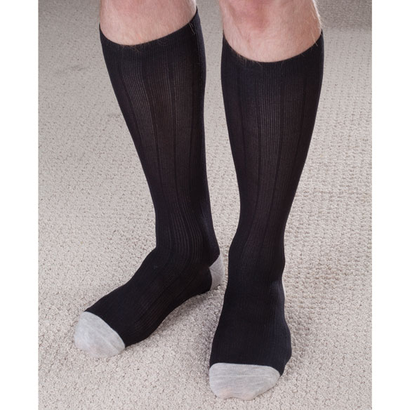 Silver Lined Support Socks - View 1