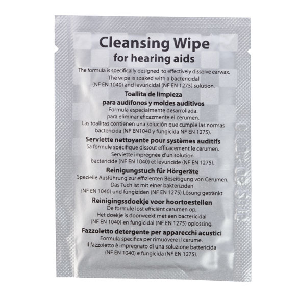 Hearing Aid Wipes - View 1