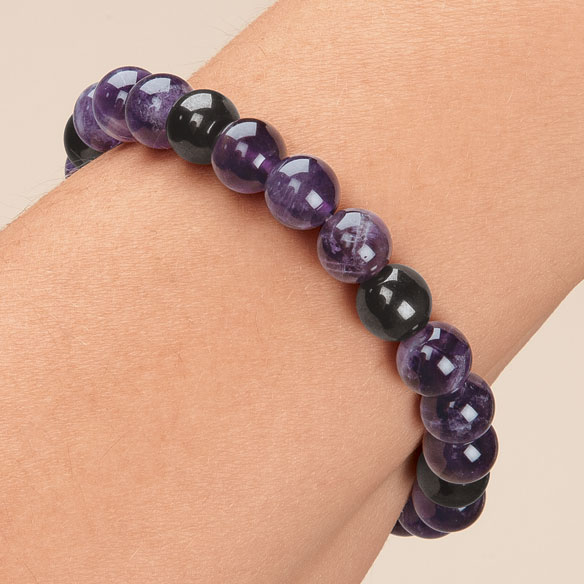 Lucky Magnetic Hematite Bracelets - View 2