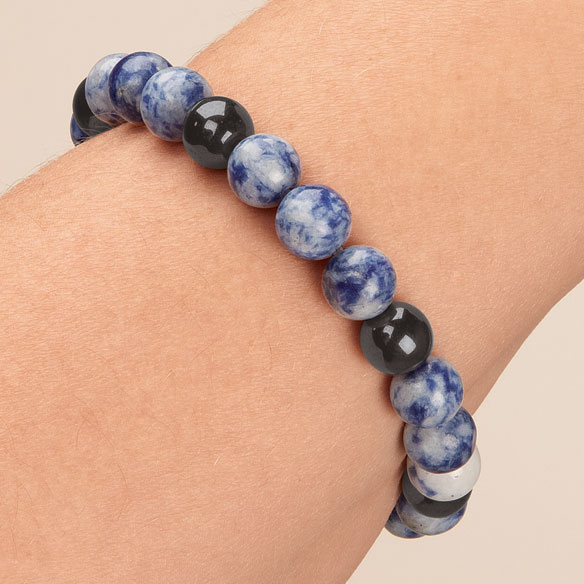 Lucky Magnetic Hematite Bracelets - View 3